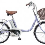Panasonic ビビ・SS・20の口コミ【膝が楽な電動自転車】<小さめ>