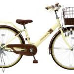 ショコラータの口コミ【大人が乗れる子ども用自転車】<送料無料><24インチ>