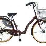 ハンドルロック付き自転車の口コミ【スイートリブ 26インチモデル】<送料無料>