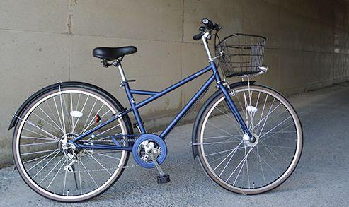 通学用の自転車