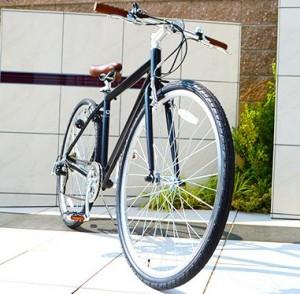 大学生の通学用クロスバイク