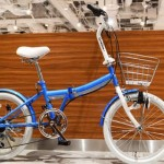 女性向け折りたたみ自転車【可愛いデザインのCymaZoo クジラモデル】<送料無料>