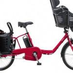 パンクしづらい3人乗り電動自転車【ギュット・ミニ・DX】<セール中>