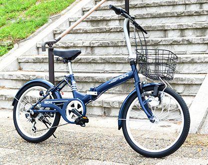 通学用折りたたみ自転車BEAT