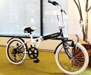 CymaZoo-パンダモデル-,女性,折りたたみ自転車