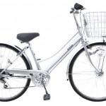 手間がかからない自転車【ウェーブセスト】<ノーパンクタイヤで激安>