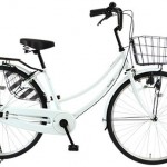 チェーンカバーがフルカバーのシティサイクル【スカートが汚れない自転車Roadia】<セール中>