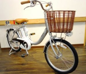 おばあちゃん向け電動自転車