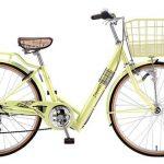 黄色おしゃれ自転車【サカモトテクノ ジョイアス】