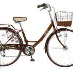 自転車MARCHの口コミ・評判【上品なママチャリで実用的】<ブラウンが人気>