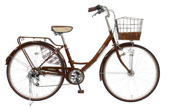 自転車,MARCH,口コミ,評判,ママチャリ