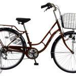 自転車Shelie(シェリー)の口コミ・評判【大人っぽいママチャリでブラウンがおすすめ】<送料無料>