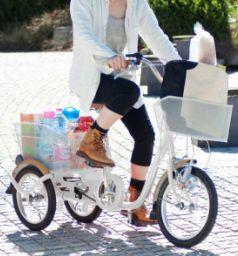 足が悪くても乗れる自転車