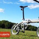 折りたたみ自転車PLATINUM LIGHT6(プラチナムウルトラライト6)の口コミ!最軽量はすごいぞ
