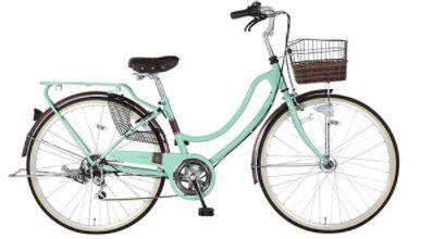 緑色の自転車Lydiare(リディアーレ)の口コミ
