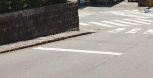歩道の段差
