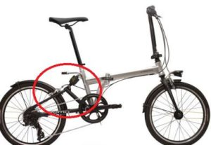 CROMOの折りたたみ自転車PF207の口コミ