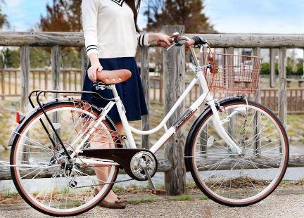おしゃれな通学自転車でおすすめはこれ