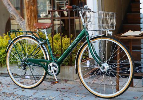 おしゃれな通学自転車