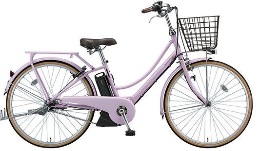 おしゃれな通学用電動アシスト自転車